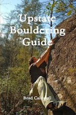 Order the Upstate Bouldering Guidebook here
