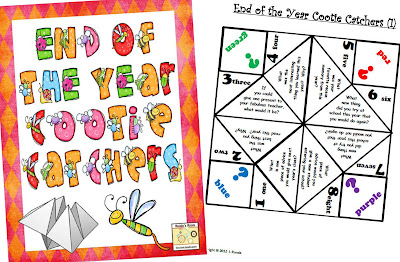 photo of End of the Year Cootie Catchers @ Runde's Room