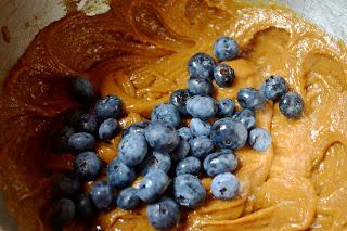 Blueberry Protein Muffins batter