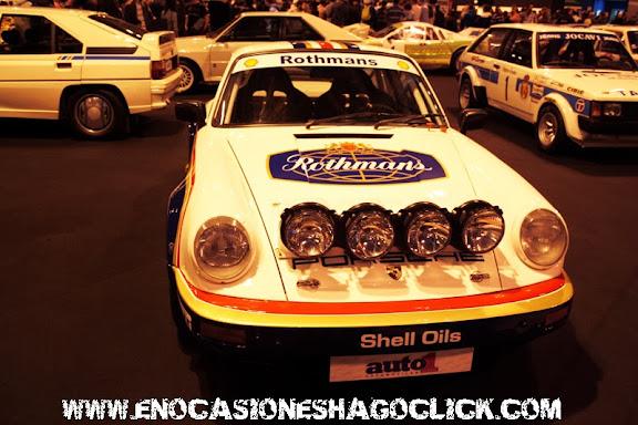 Porsche 911 Rothmans en Madrid Motor Days