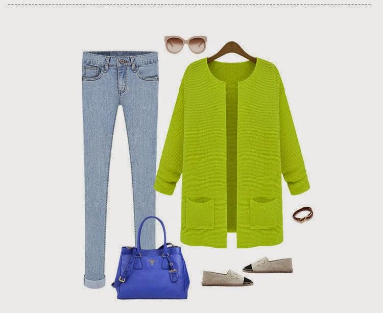 Look com Casaco Longo Zara Inspired: Várias Cores de Casaco e Cardigãs disponíveis no AliExpress.