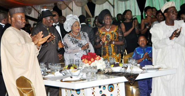 presidential dinner nollywood lagos