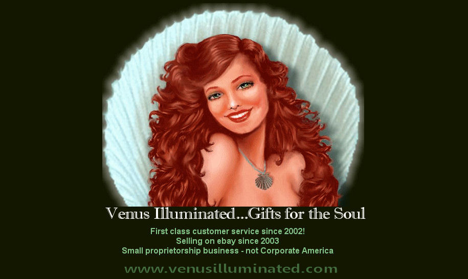 Venus Illuminated Metaphysical Gifts...Gifts for the Soul