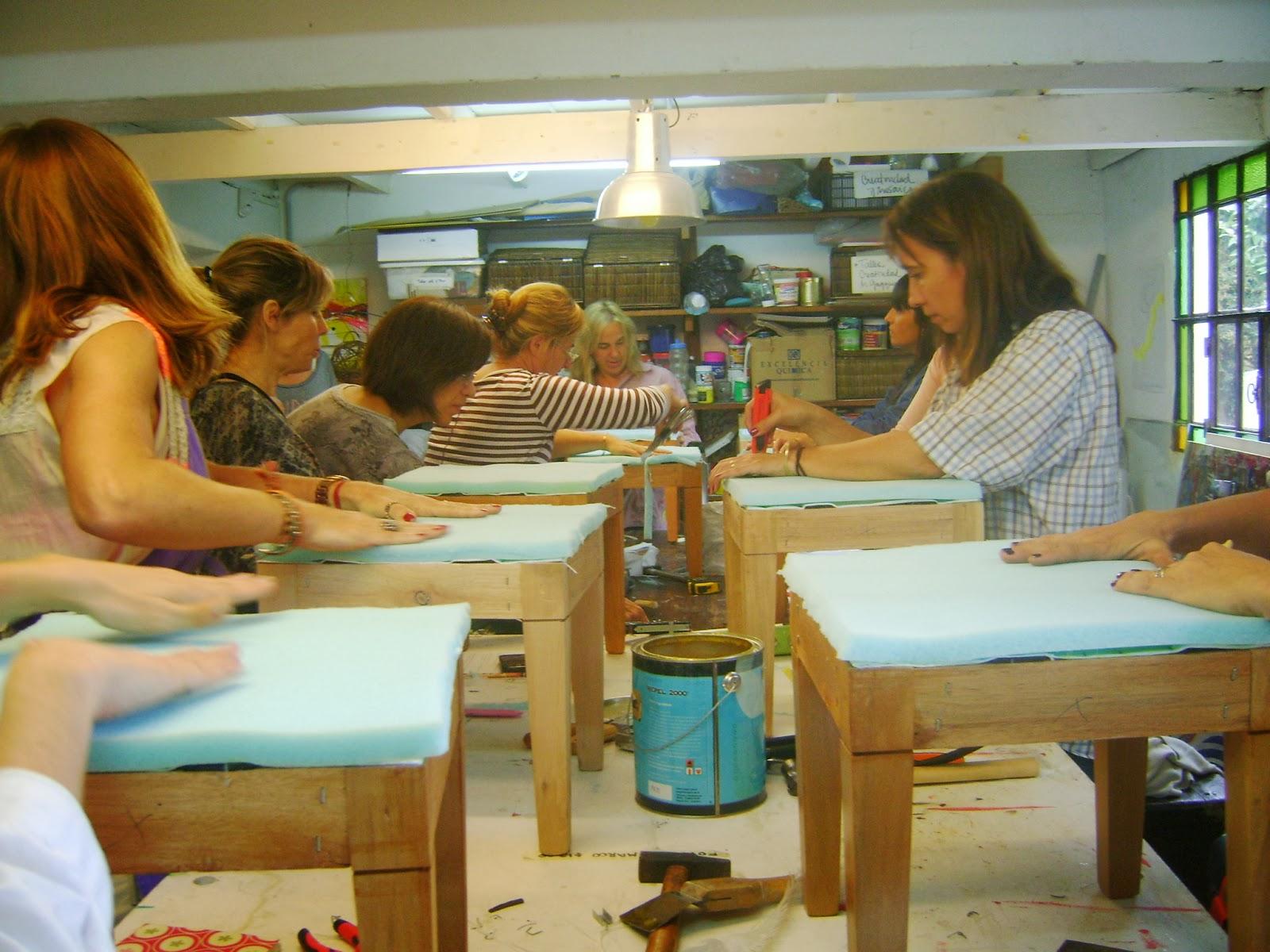 Usina cultural s enz pe a en enero taller de tapicer a - Talleres de tapiceria ...
