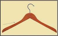 Πώς μπορούμε να κάνουμε τα ρούχα να μην γλυστρούν από την κρεμάστρα;