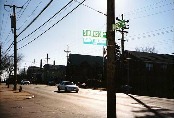 Corner of Simonson & Forest Ave's Staten Island, New York