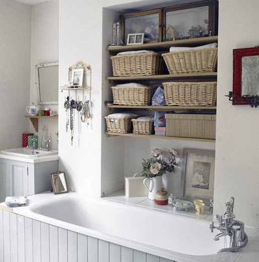 2014 small bathrooms storage solutions ideas for Small bathroom solutions