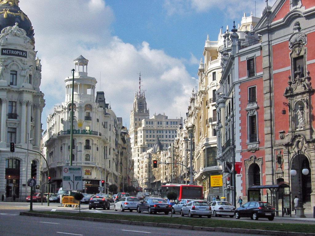 Madrid City Capital Of Spain World For Travel