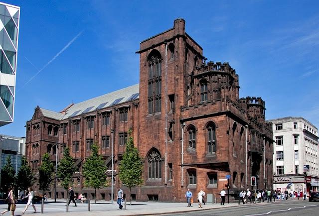 Bilioteca John Rylands em Manchester