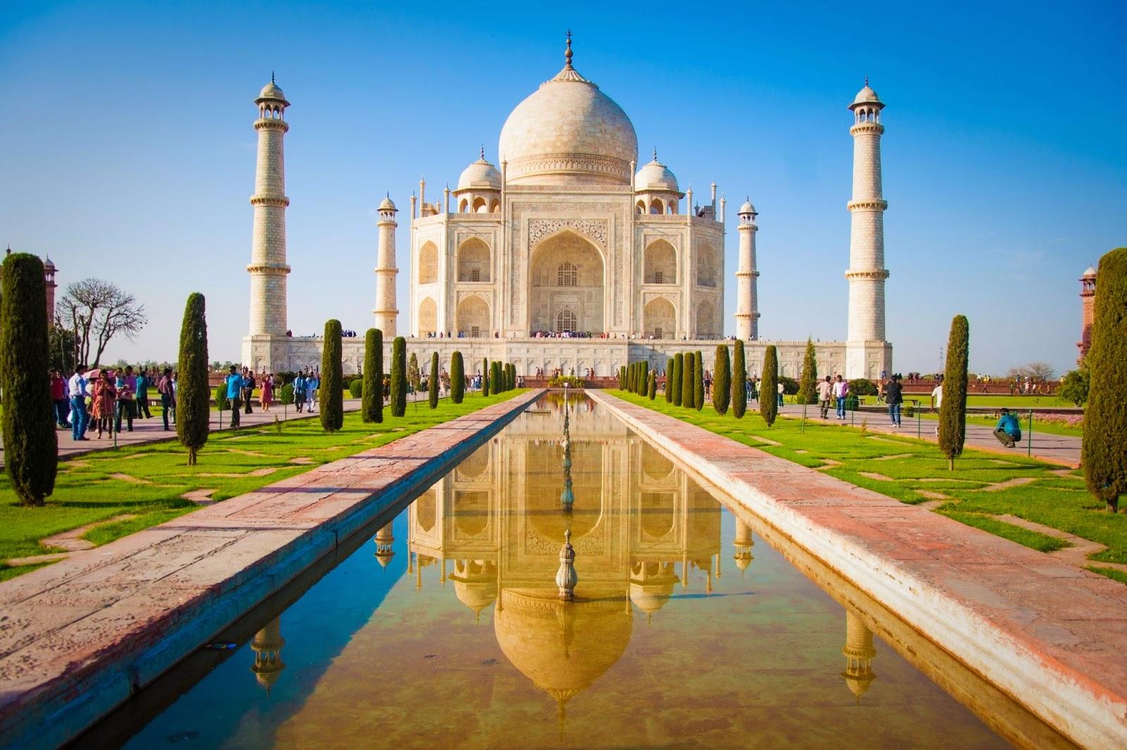 Taj Mahal, Dibangun Selama 20 Tahun