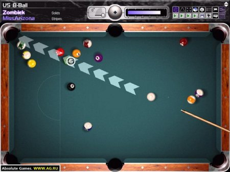 Snooker 8 Ball Game