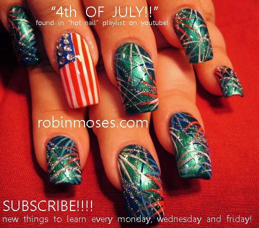 Robin moses nail art memorial day nail art memorial day nails independence day nail art prinsesfo Image collections