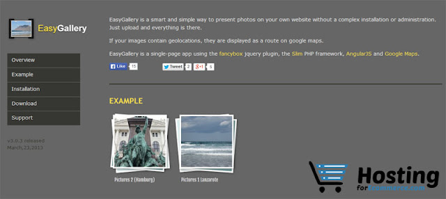 Easy Gallery v2.1.1 Hosting