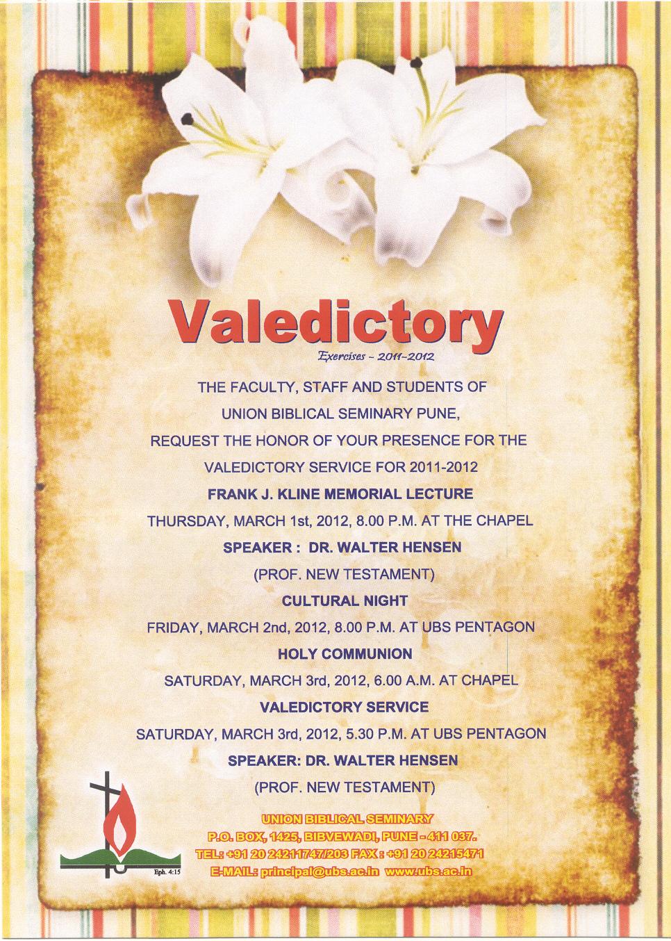 The ldnp blog valedictory service valedictory service stopboris Images