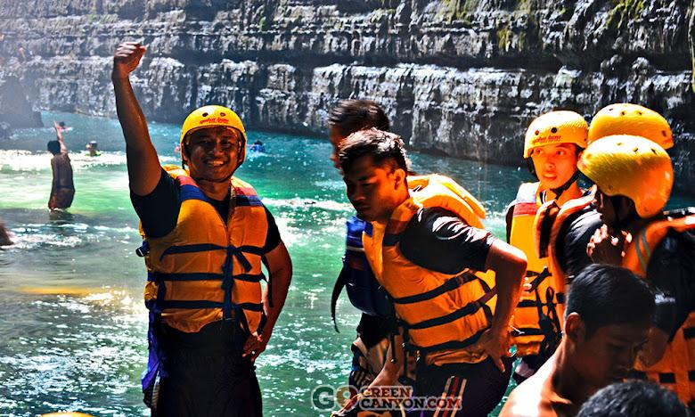 paket wisata 3 hari 2 malam di Pangandaran hingga Green Canyon