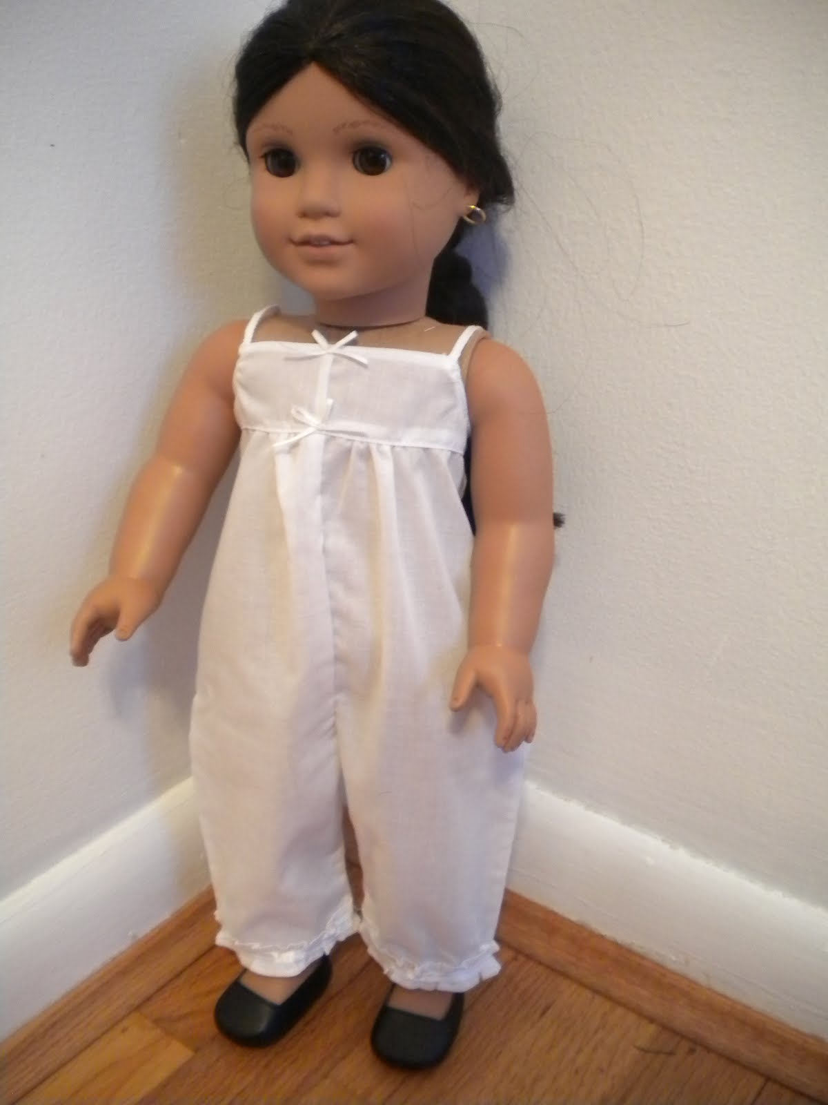 Mexican american girl doll white dress