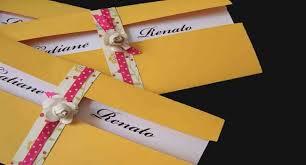exemplo de envelopes com foto