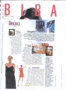 Biba Magazine - France