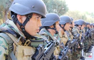 Hải quân đánh bộ Việt Nam được ưu tiên trang bị nhiều vũ khí cá nhân hiện đại hàng đầu thế giới hiện nay. Ảnh: Quân đội Nhân dân.