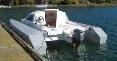 Arafury. A power catamaran.: Small beginings...