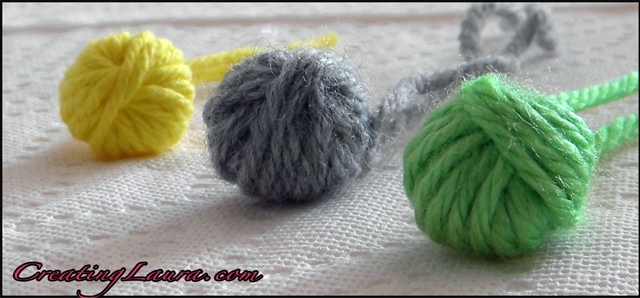 Try out this button-making technique and never find yourself without a button again! First, crochet your favorite project, in this case the Basking Crossbody Bag. Then create this button to form a closure. Making the Yarn Button. Using a G/6 (4 mm) hook with DK- to worsted-weight yarn.