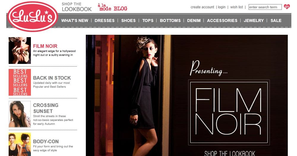 Interview with colleen of lulu discount code a for Online stores like lulus
