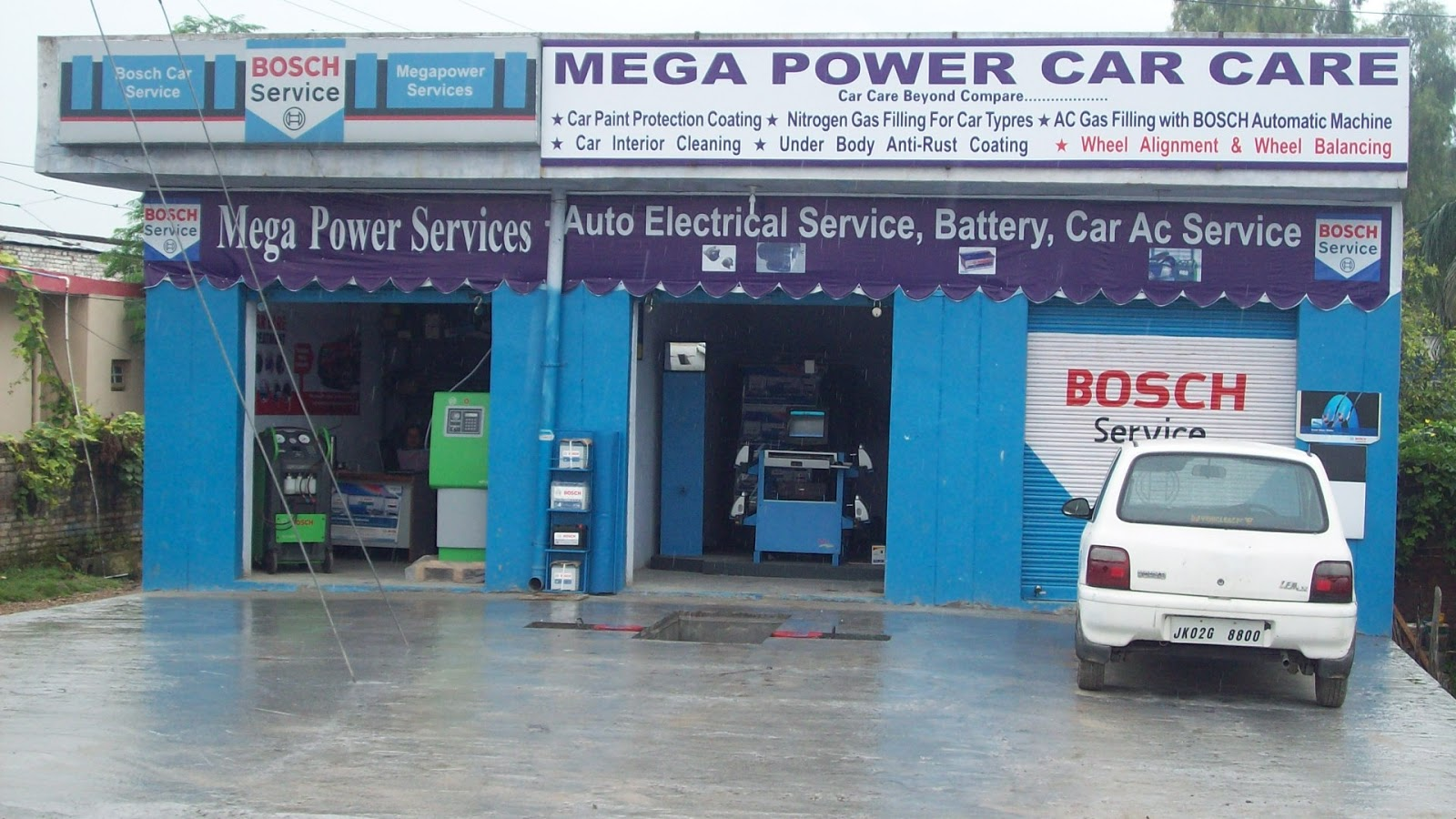 Megapower Bosch Car Service Jammu About Us