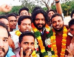 MANUU students union election 2015
