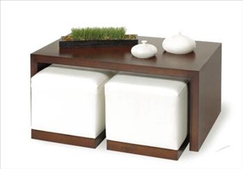 Sua casa de cara nova mesa de centro for Mesa centro puff