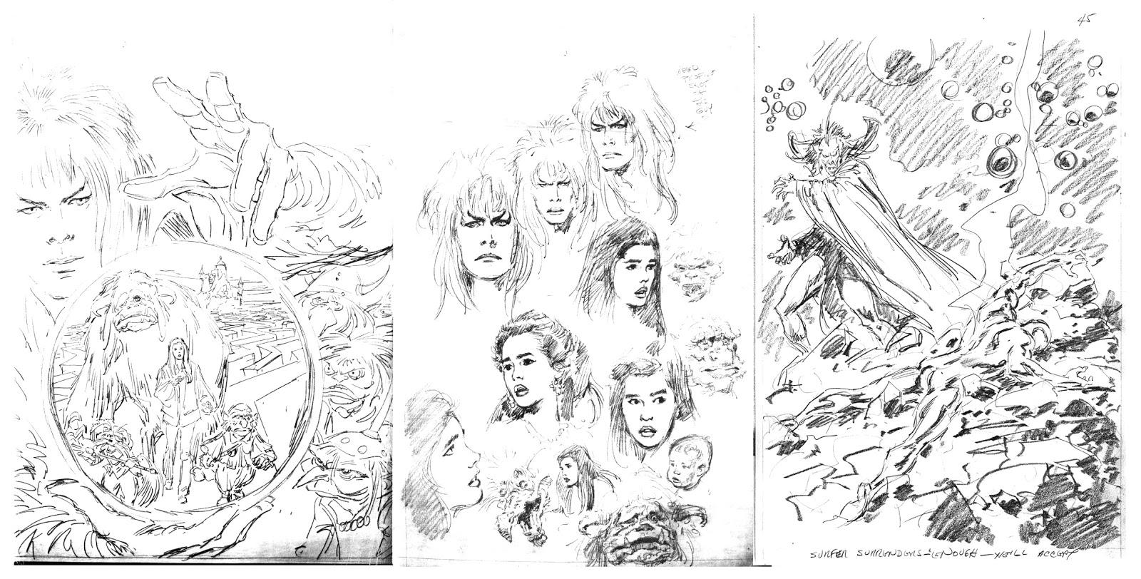 Labyrinth Movie Drawings Labyrinth Movie Adaptation