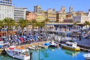 Havnen i Genova