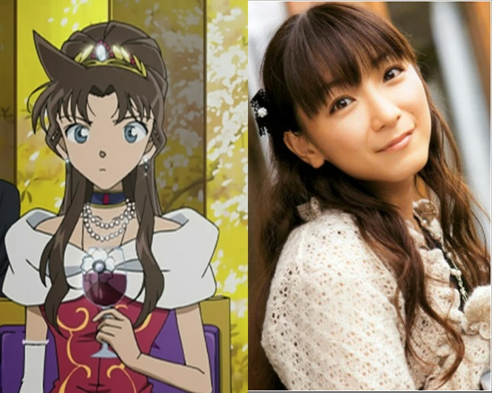 Foto Yui Horie, pengisi suara Princes Mira, Movie Lupin the 3rd vs Detective Conan
