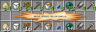 Upsizer Mod para Minecraft 1.8