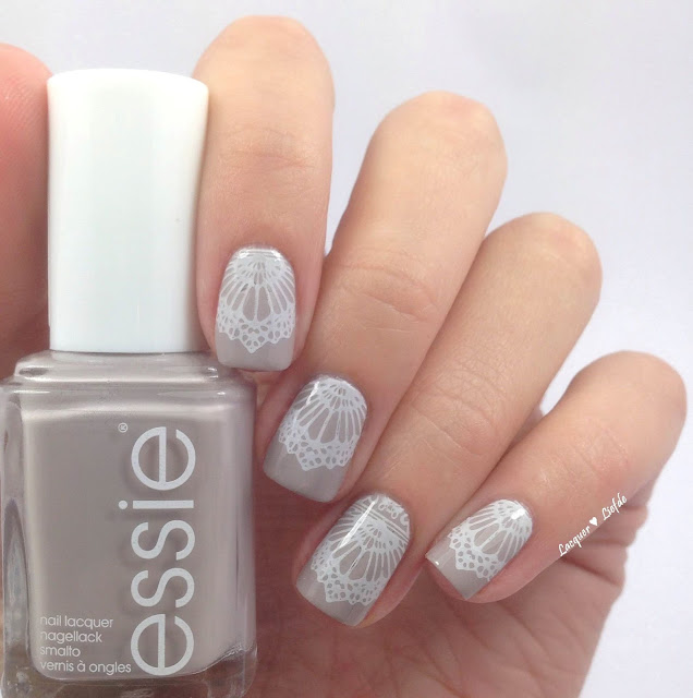 Take it outside essie mit bridal plate moyou