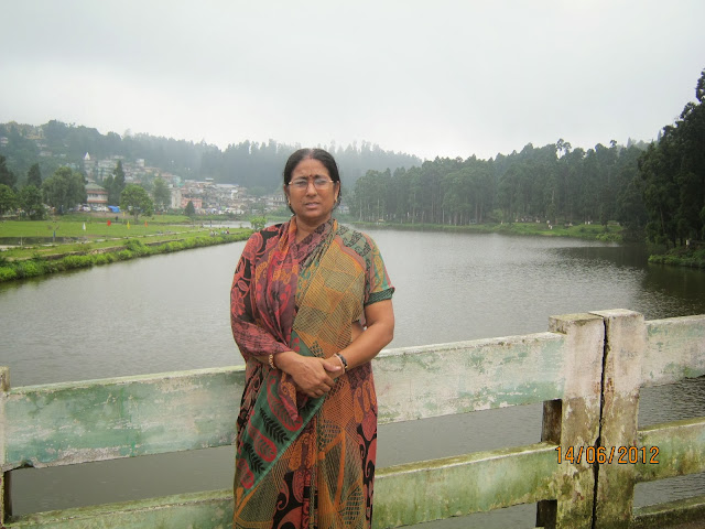 Mirik lake , Darjeeling , west bangal