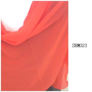 shawl halfmoon plain oren