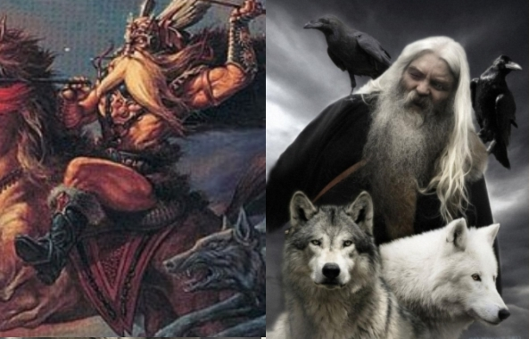 White Wolf : Pagan Myths: The Norse God Odin was The ...