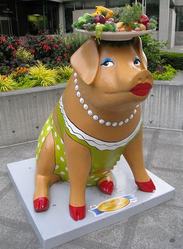 Pig Parade em Évora