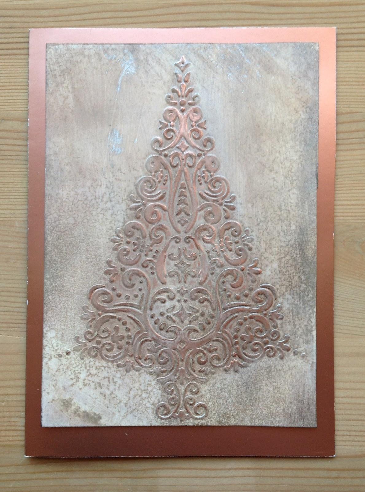 Prägefolder Weihnachtsbaum