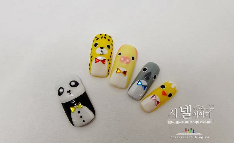 Nail Art Together With Korean Nail Art Together With Easy Simple ...