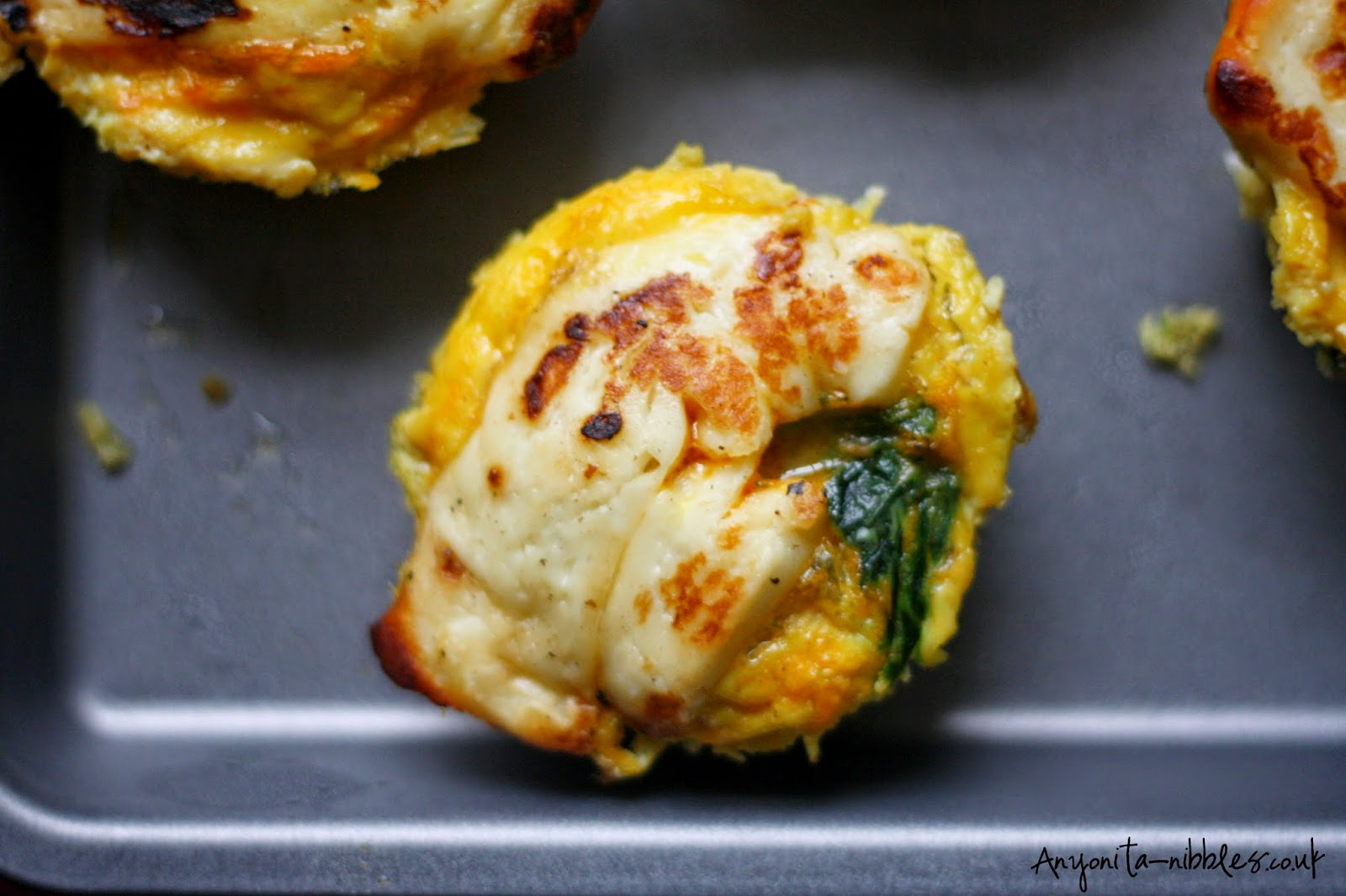 A single serving gluten free halloumi chese by Anyonita-nibbles.co.uk