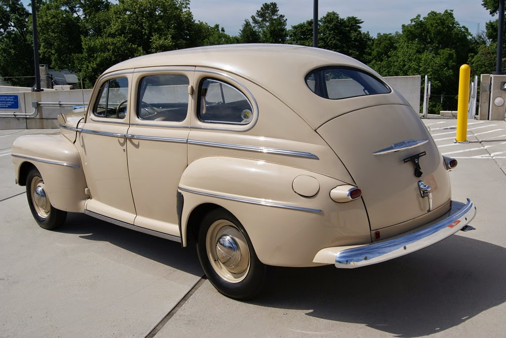 All american classic cars 1947 ford super deluxe fordor 4 for 1941 ford super deluxe 4 door sedan