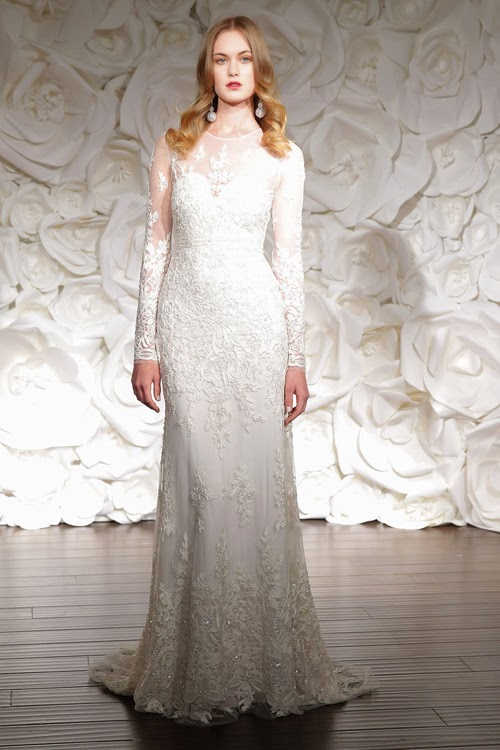 Váy cưới dài tay