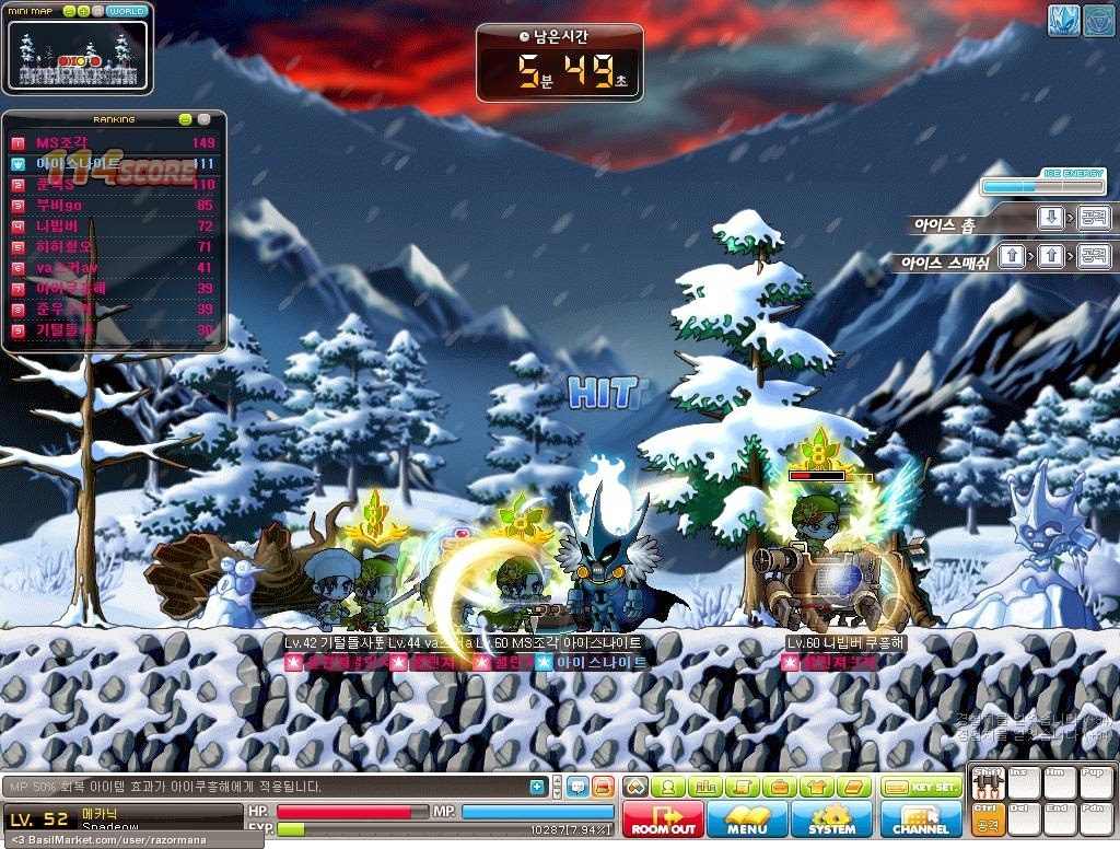 Maple Story MMORPG game review