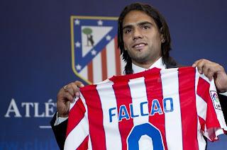 Presentación Falcao Atlético de Madrid