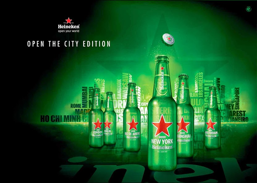 Heineken: Open Your City with Limited Edition Bottles