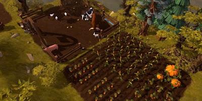 фермерство Albion Online