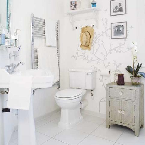 Bathroom on Bathroom Wall Stickers White Bathroom Wall Stickier Jpg