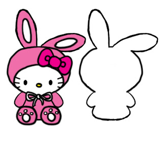 Bunny Hello Kitty Basic Template B4Astudios