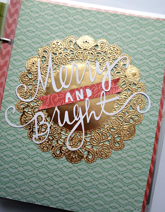 Merry and Bright Layout